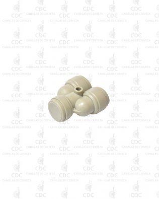 Acople rápido U 3/8″ de recirculado Fluidfit