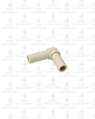 Codo Adaptador de manguera 3/8″ a acople rápido 3/8″ Fluidfit