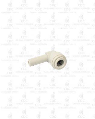 Codo tubo 3/8″ a acople rápido 3/8″ Fluidfit
