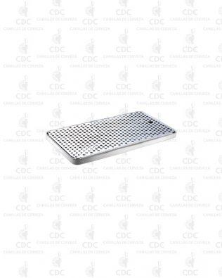 Bandeja de goteo Acero Inoxidable 40 x 21 x 2,1 cm